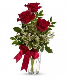 It's definitely the thought that counts that's expressed with this bouquet.