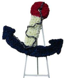 Custom designed Anchor piece.