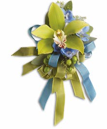 Make a fashion statement when you wear this corsage!