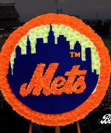 Custom Mets Funeral Flowers Designs - Logo - Yonkers & White Plains Florist
