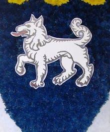 Custom designed Family Crest piece.