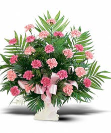 Send this lovely pink arrangement to show how much you care.