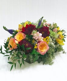 Centerpiece - Dahlia - Roses - Orchids