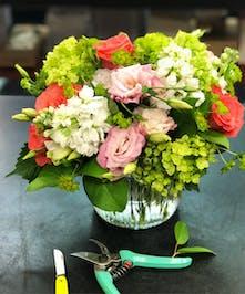 Tangerine Lime Floral Design - Blossom Flower Delivery