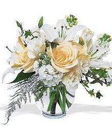 Stunning White Arrangement