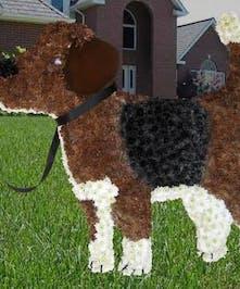 Custom designed Beagle piece.