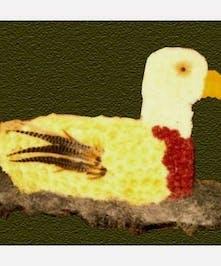 Custom designed Duck piece.