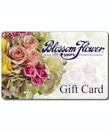 Receive 10% off when you use our Blossom gift card. What a sweet deal!