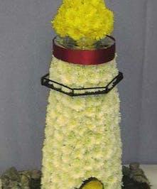 Custom designed Light House piece.