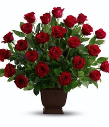 Rose Tribute Basket